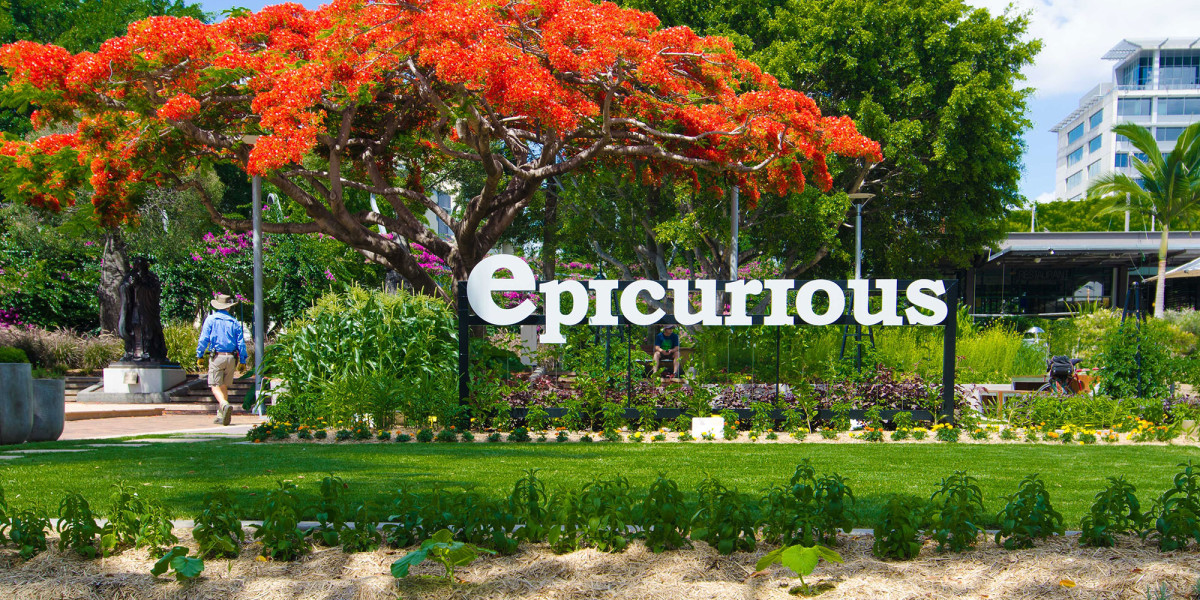 Epicurious garden south bank parklands brisbane city for Landscape gardeners brisbane